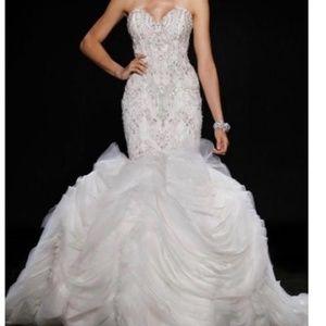 Lazaro 3400 wedding dress